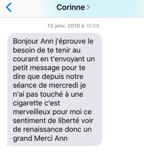 Témoignage Corinne